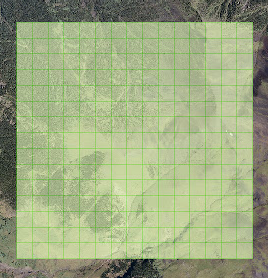 Creating a fishnet grid using ArcGIS 10