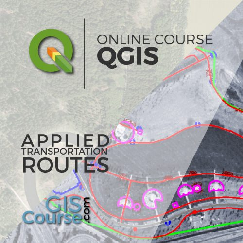 Online Course Route Analysis, finding the shortest path in QGIS