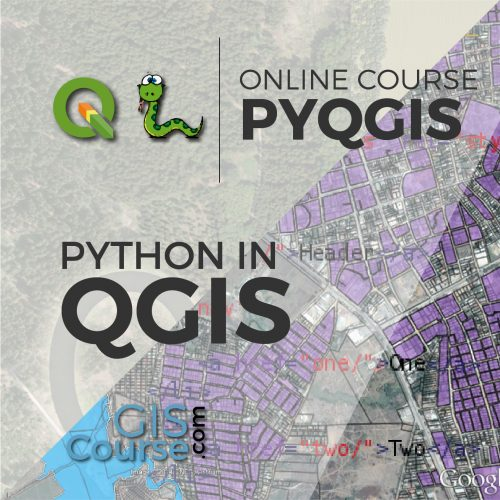Online Course Using Python with QGIS