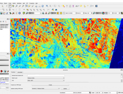 Easy way to download Sentinel-2 images using QGIS SentinelHub Plugin