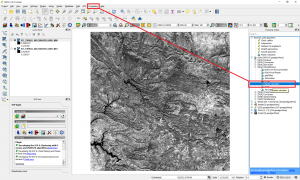 Simple methodology for water data extraction using QGIS and Sentinel