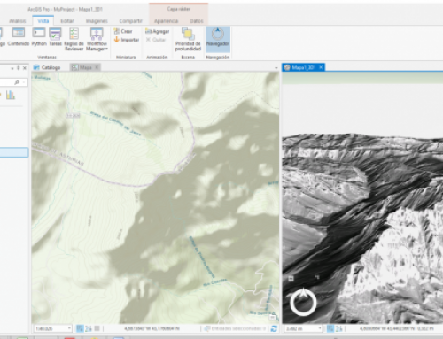 3D visualization of vector and raster data with ArcGIS Pro