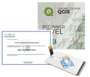 QGIS Beginner Level Certificate and USB