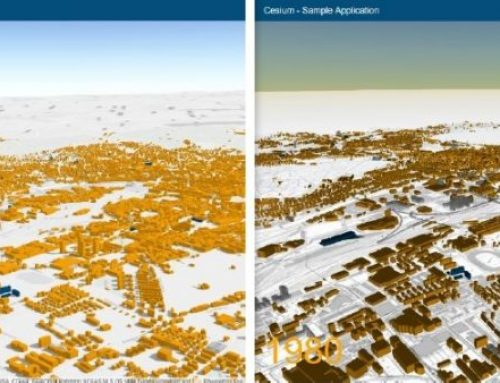 Differences in the developing of 3D cartographic viewers with Cesium and ArcGIS API for JavaScript