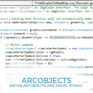 ArcObjects Visual Studio