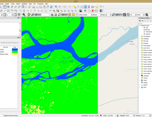 Using Semi-Automatic Classification Plugin with QGIS 3.0