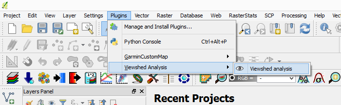 How to create a Visibility Analysis with QGIS