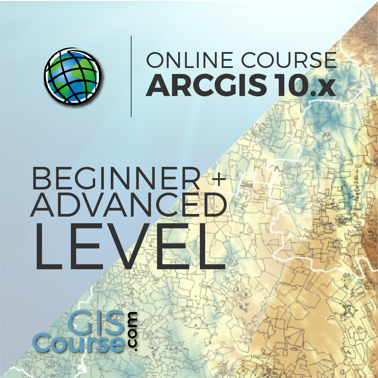 Arcgis 10x Specialist From Beginner To Advanced Gis Course