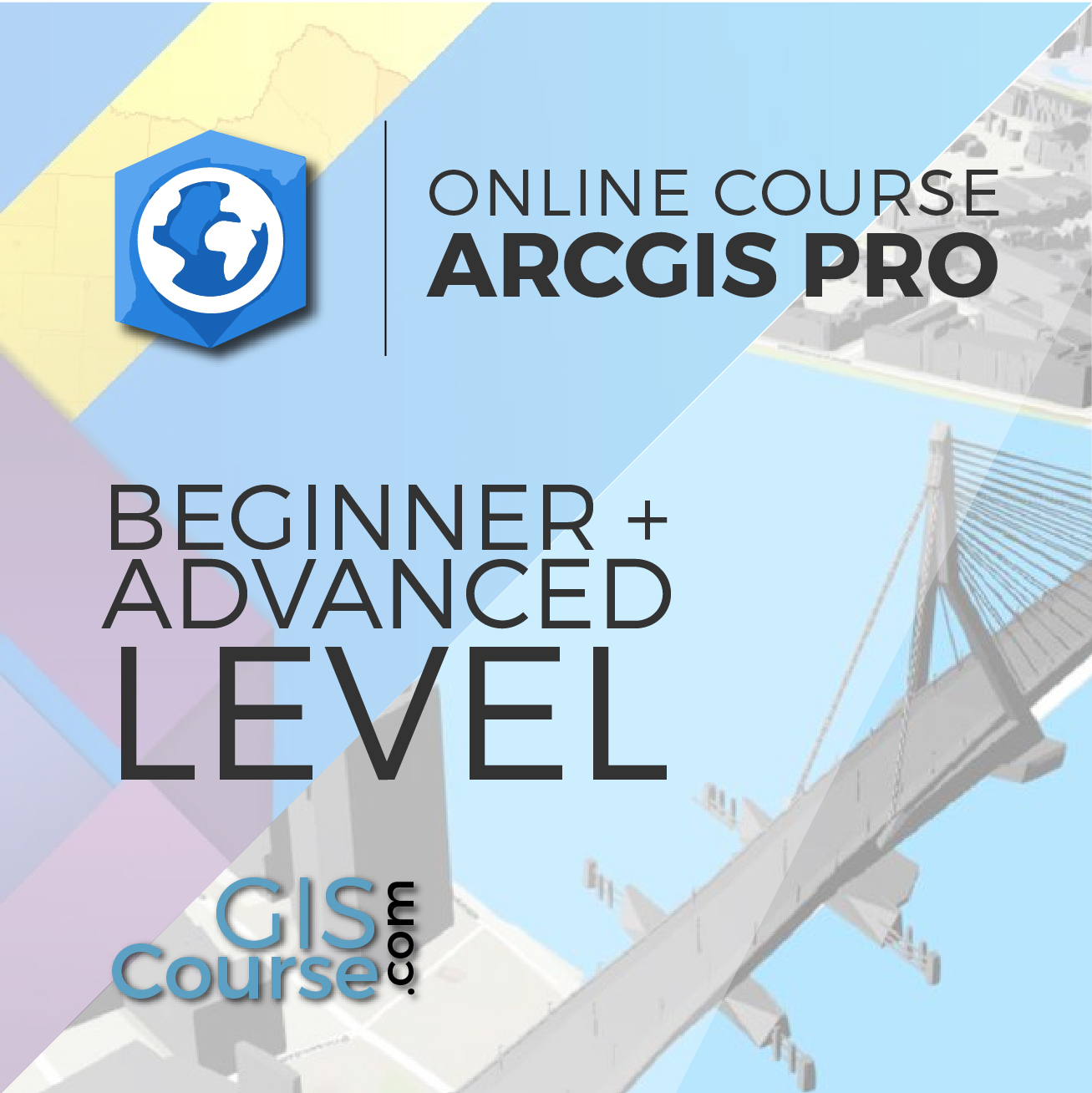 Arcgis Pro Specialist From Beginner To Advanced Gis Course Tyc