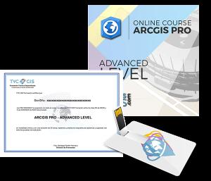 ArcGIS Pro Nivel Avanzado Certificado USB