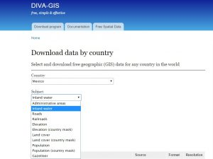 Download free basic cartography from around the world_divagis_download