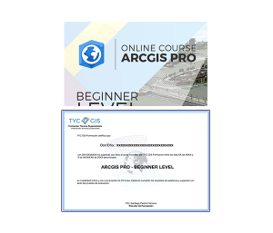 Online course ArcGIS Pro Beginner Level Certificate