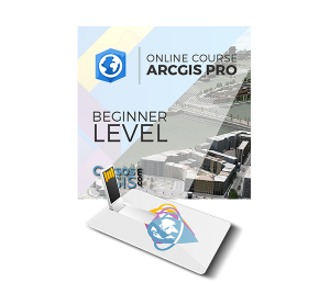 Online course ArcGIS Pro Beginner Level usb