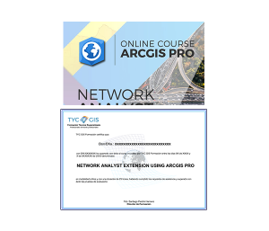 Online course ArcGIS Pro Network Analyst Certificate – GIS