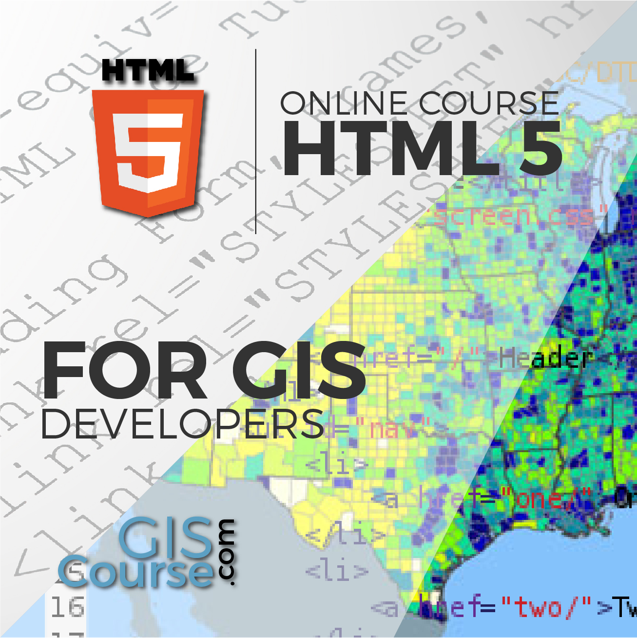 Html5 For Gis Developers Gis Course Tyc Gis Training