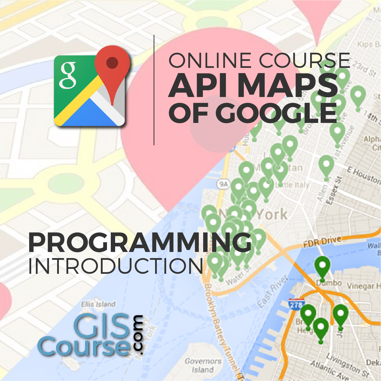 Introduction in programming using Google Maps API