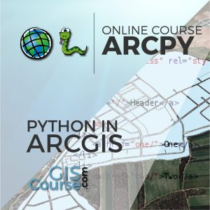 Online Course Using Python with ArcGIS