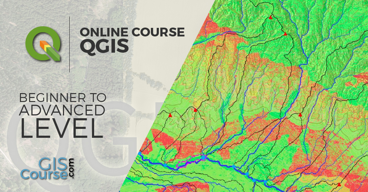 QGIS Course, Beginner to Advanced