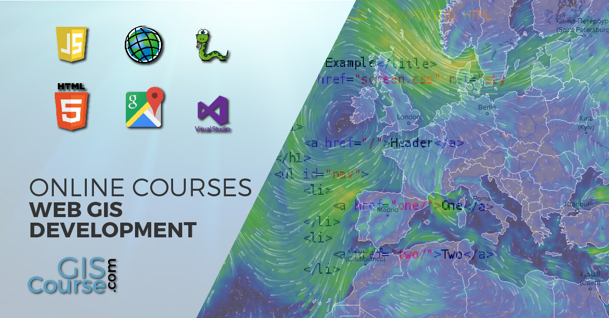 Web GIS Development Courses WEB Development