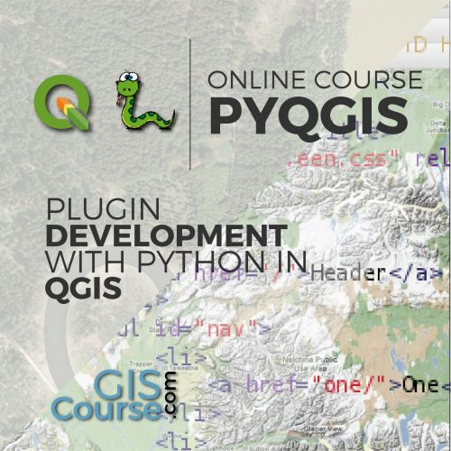 Online Course Plugin development with Python and QGIS