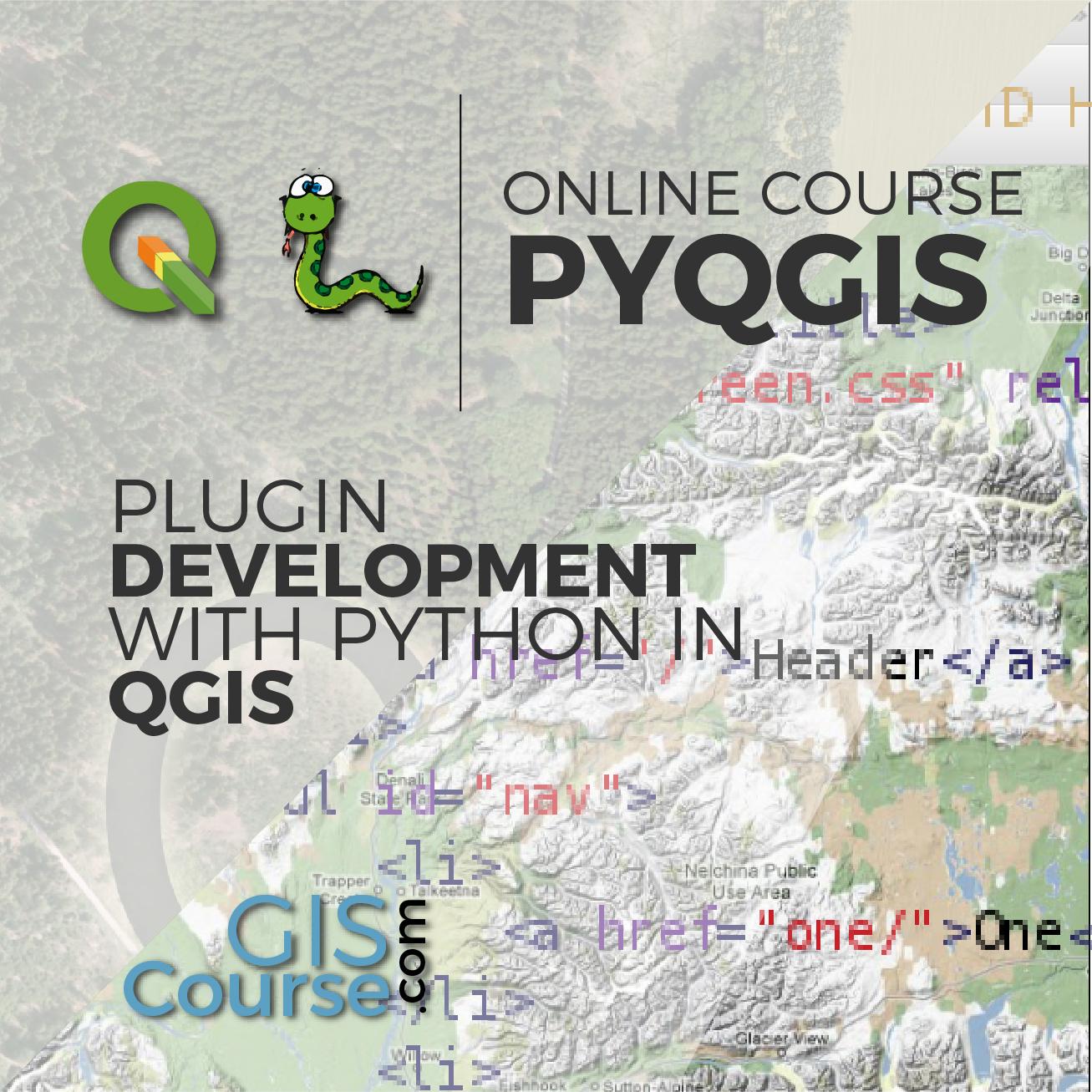 QGIS plugin development with Python
