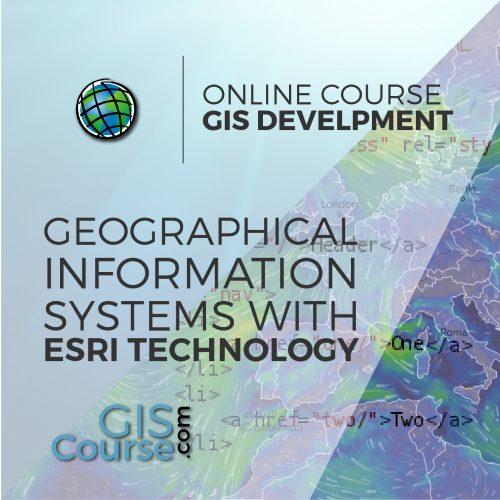 Online Course WEB GIS Specialist