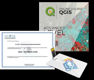 QGIS Advanced Level Certificete and USB