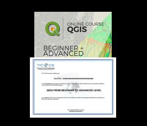 QGIS Beginner Advanced Level Certificate