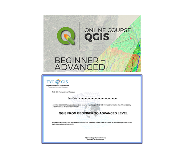 Qgis Course From Beginner To Advanced Gis Course Tyc Gis Training
