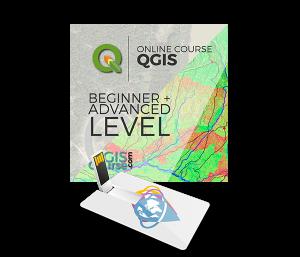 QGIS Beginner Advanced Level USB