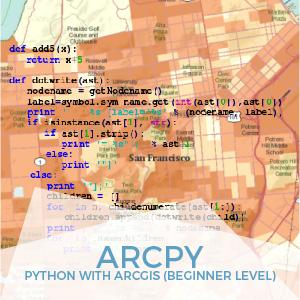 ArcPy beginner Level Python ArcGIS