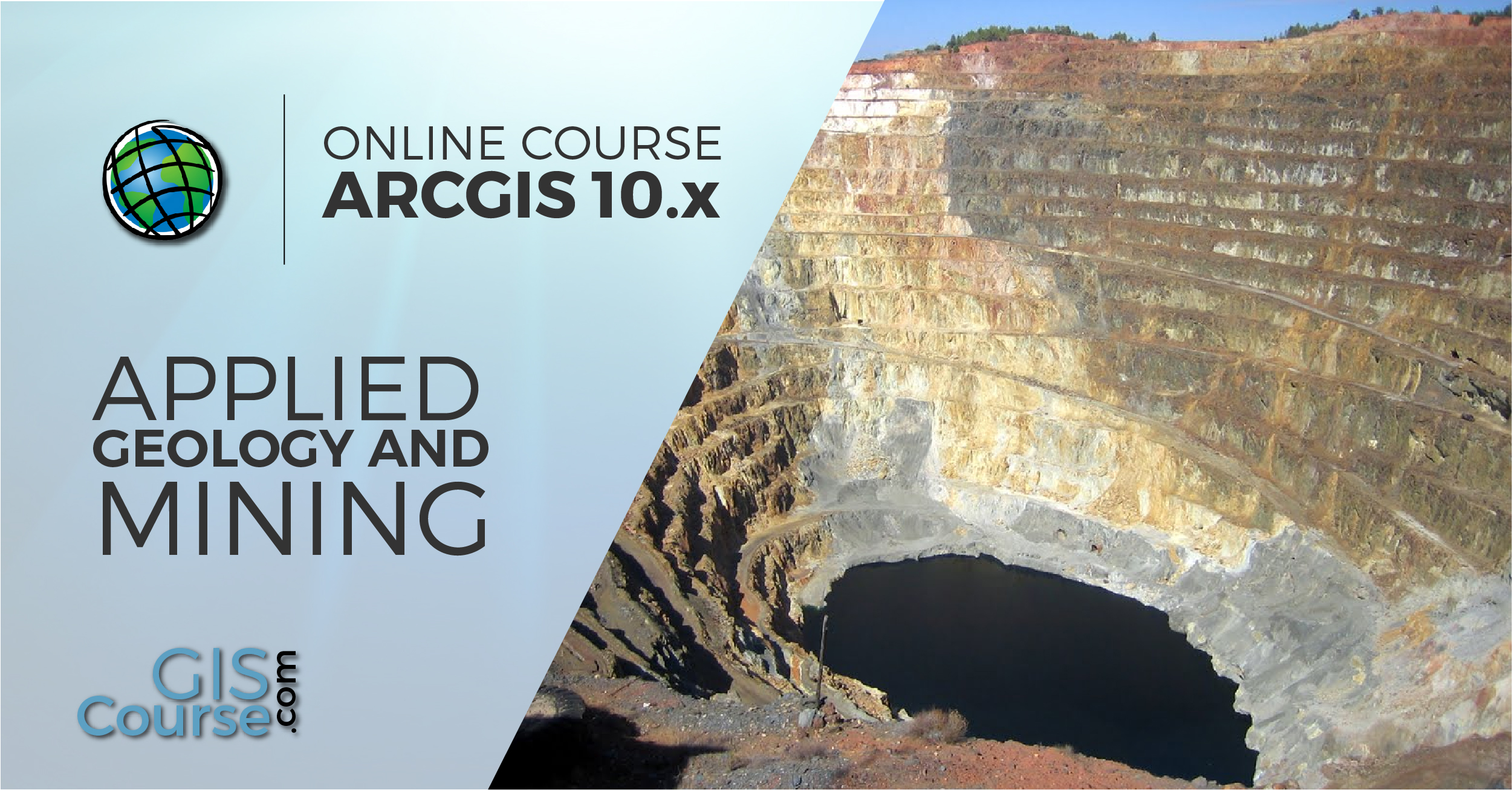 Arcgis Course Applied To Geology And Mining Online Gis Training