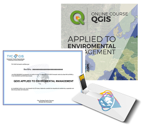 QGIS Aplied to Enviromental Management Certificate and USB