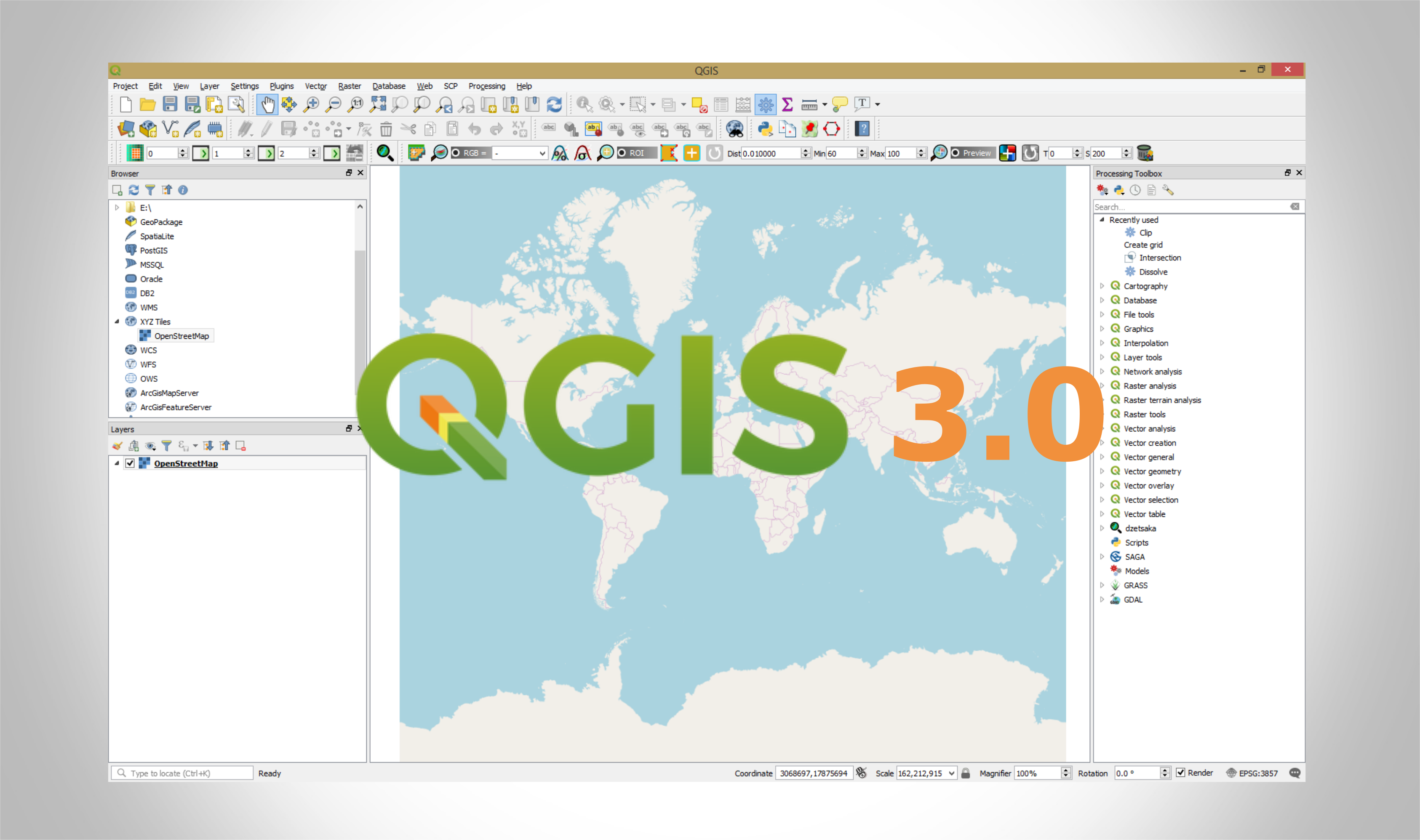 How to add OpenStreetMap Basemaps in QGIS 3 0