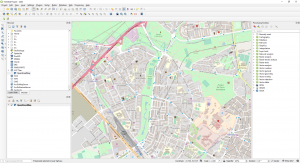 Download OpenStreetMap data using QuickOSM plugin in QGIS