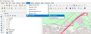 Download OpenStreetMap data using QuickOSM plugin in QGIS