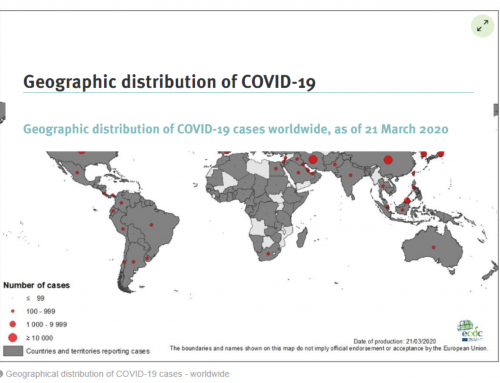 Coronavirus (COVID-19) maps – online resources