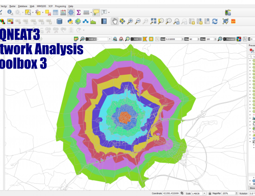 QNEAT3 – QGIS Network Analysis Capabilities