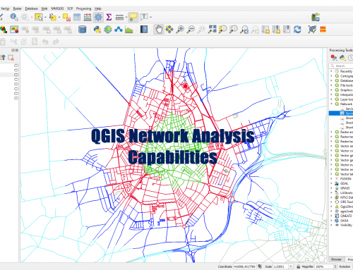 QGIS Network Analysis Capabilities