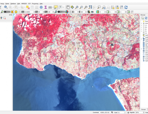 Downloading and Preprocessing Satellite Imagery using QGIS and Semi-Automatic Classification Plugin